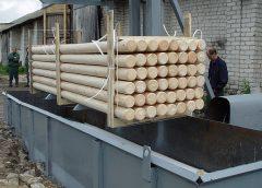 Глубокая пропитка деревянных брусов