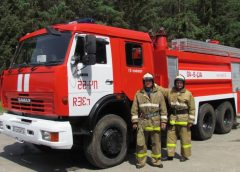 Пожарный автомобиль на базе КамАЗ