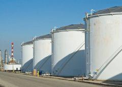 Резервуары с нефтепродуктами