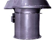 Крышные вентилятор подпора воздуха ВКОП